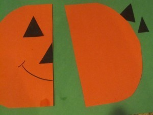 Symmetrical pumpkins in preschool | Digital story | Scoop.it