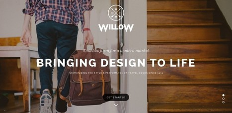 Willow – A One Page Multi-Purpose Theme | eCommerce Website Templates | Scoop.it