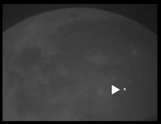 Grande impacto é filmado na Lua   Ciência e ufologia   Scoop.it