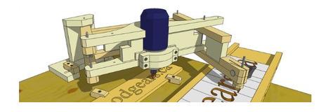 Un pantógrafo para trabajar con madera | DRAYEN02 | Scoop.it