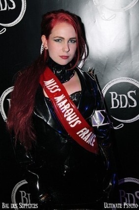 Xel Anianka is Miss Marquis France 2012 | LFN - latex fetish news | Scoop.it