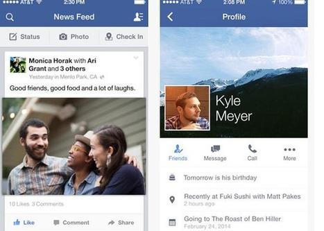 Facebook pour iOS, vous pourrez désormais écrire vos publications en étant hors ligne | Application mobile | Scoop.it