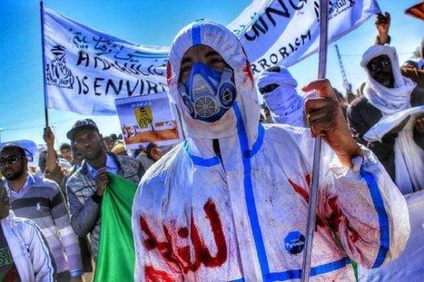 L'ombre des essais nucléaires plane sur la contestation du gaz de schiste en Algérie | démocratie énergetique | Scoop.it