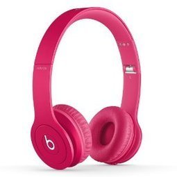 Taatu Live Games: Beats Solo HD On-Ear Headphone (Drenched in Pink) | beatsaudio | Scoop.it