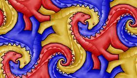 MC Escher Tessellations (Lesson Plan) | Math education for the new millenium | Scoop.it