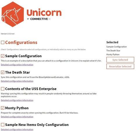 Unicorn 3.0 Released | Sitecore | CXM | Customer Experience | Scoop.it