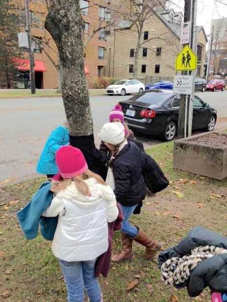 Kids Wrap Street Poles with Winter Clothes To Help Keep Homeless Warm | NovaScotia News | Scoop.it
