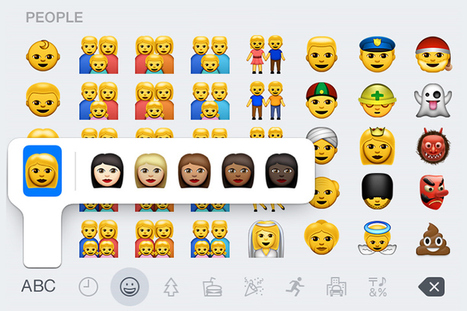 "Apple introduces new ""diverse"" emojis   #Design   Scoop.it"