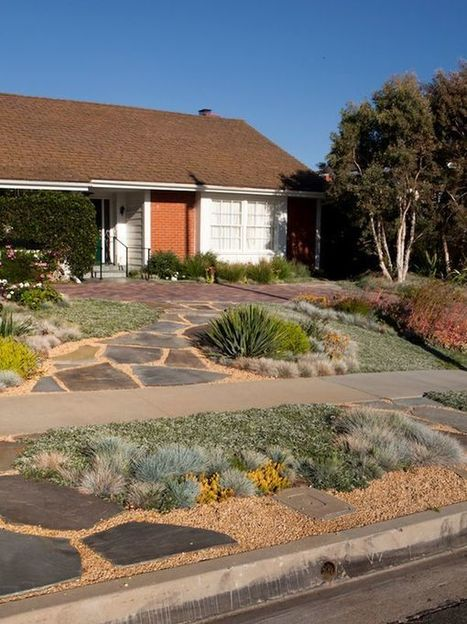 20 awesome pictures to  inspire  you  into  how  to  landscape  your  front garden | Gardening | Scoop.it