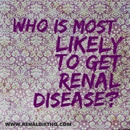 Who Is Most Likely To Experience Renal Disease? | Cardiac Diet Meal and Menu Plan | Scoop.it