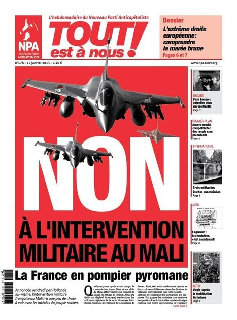 France war in Mali to secure resources, stamp out national rights struggles | Daraja.net | Scoop.it