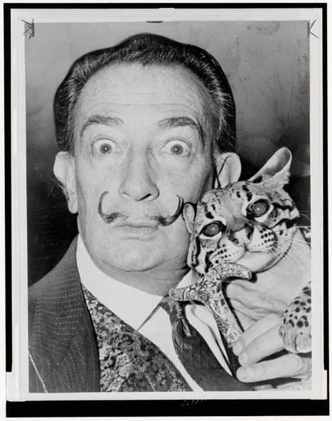 Portraits of Famous Artists and Their Cats | What about? What's up? Qué pasa? | Scoop.it