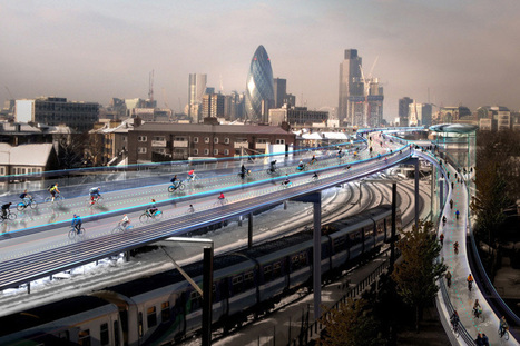 Norman Foster Proposes 220km Elevated Bike Path in London | Urban design tools | Scoop.it