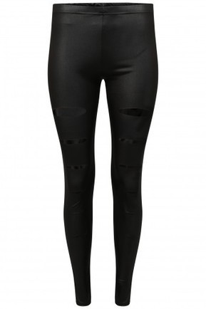 Ripped Wet Look Skinny Fit Leggings | Stylewise Direct | Women's Fashion Online | Scoop.it
