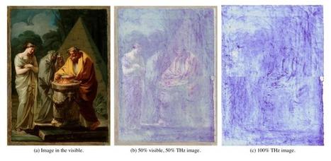 Terahertz Image Reveals Goya's Hidden Signature in Old Master Painting | the black paintings | Scoop.it