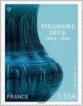 Vente anticipée du timbre à l'effigie de Théodore Deck | Ville de Guebwiller | Médiathèque de Guebwiller - Vallée du Florival | Scoop.it