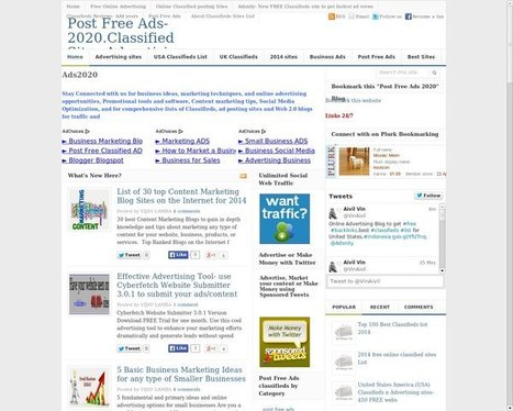 Ads-2020.Online Advertising.Post Ads | Local Advertising (at www.ads2020.marketing ) | Scoop.it