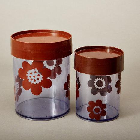 vintage box canisters // erik kold | kitchen Fix it | Scoop.it