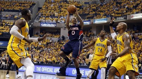 NBA playoffs 2014, Pacers vs. Hawks final score: Atlanta shocks Indiana with 101-93 Game 1 victory | Atlanta Hawks News | Scoop.it
