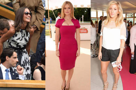 Celebrities Sitting Courtside at the 2014 Wimbledon Championships | Palpi Fashion & Style | Scoop.it