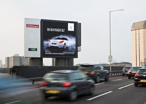 UK: Peugeot Runs Major Outdoor Campaign on JCDecaux's Static and Digital Assets | The Meeddya Group | Scoop.it