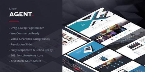 Agent | A Creative Multi-Purpose WordPress Themeforest Theme - Wpdil | wordpress news,themes & tutorial | Scoop.it