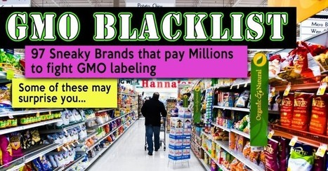 Blacklisted: GMO Supporting Food Companies to Avoid | GMOs & FOOD, WATER & SOIL MATTERS | Scoop.it
