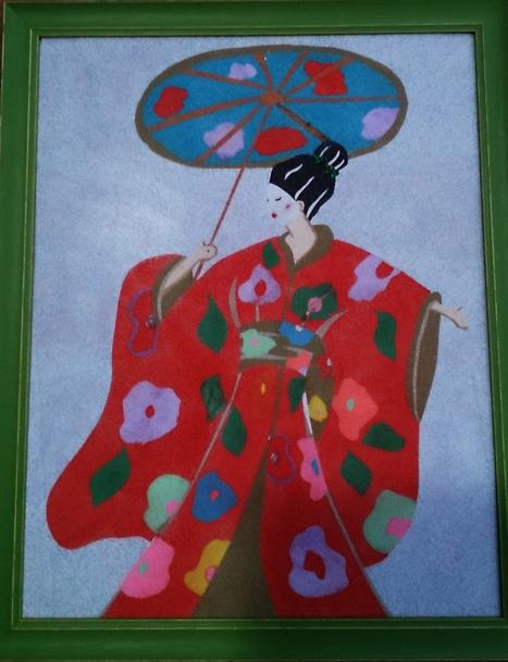 Geisha de arenas | Mano a Mano con Cari | artes decorativas | Scoop.it