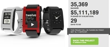 Who Needs Venture Capital? Pebble Smart Watch Raises Over $5 Million on Kickstarter - Forbes   Entrepreneurship, Innovation   Scoop.it
