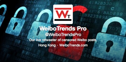 English-Language Twitter Feed of Posts Censored from Sina Weibo Created by JMSC Scholars | Social Media Studies- East and West | Scoop.it
