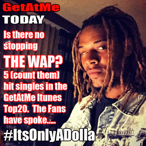 GetAtMe Today Can The Wap be stopped.  5 singles in the top 20 this week... #NowThatsSellingMusic | GetAtMe | Scoop.it