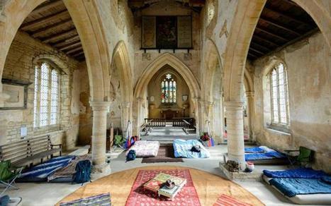 Royaume Uni Camper dans des églises historiques | L'observateur du patrimoine | Scoop.it