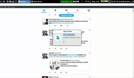 Anatine : Un autre client twitter open source – Le blog de Wilfried Caruel | Freewares | Scoop.it