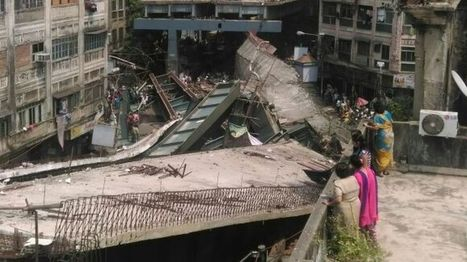 India Kolkata: At least 10 dead after flyover collapses on road - BBC News   World News   Scoop.it