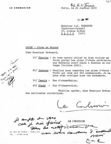 À propos du Gymnase Le Corbusier à Bagdad : découverte des archives de la construction (1974-1980) | Les carnets de l'Ifpo | The Architecture of the City | Scoop.it