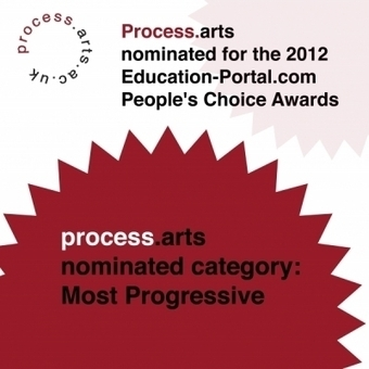Process.arts nominated for the 2012 Education-Portal.com People's Choice Awards | process.arts | Open Educational Arts Practice | Scoop.it