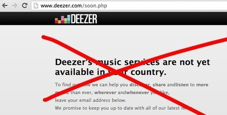 Deezer: Coming to America In January, 2014... | Digital Content Licensing | Scoop.it