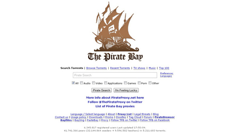 Copyright infringement: Pirate Bay proposes browser to circumvent censorship | The EU And The Internet | Scoop.it