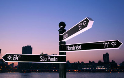 Points | The most advanced wayfinding sign on Earth | TRENDS | Scoop.it