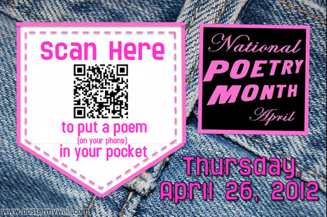 April is National Poetry Month | Middle School Mania | Scoop.it