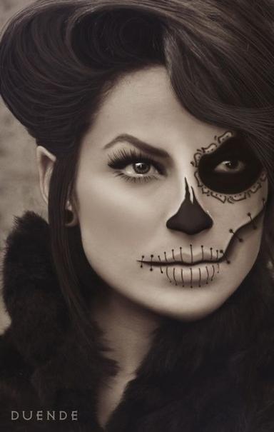 25 Artistic Halloween Makeup Ideas | Fun And Life | Scoop.it