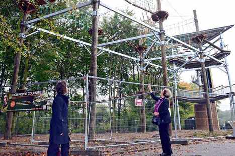 Getting set for Telford's new aerial ropes course - shropshirestar.com | water parks | Scoop.it
