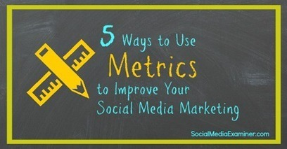 5 Ways to Use Metrics to Improve Your Social Media Marketing | Online Marketing | Scoop.it