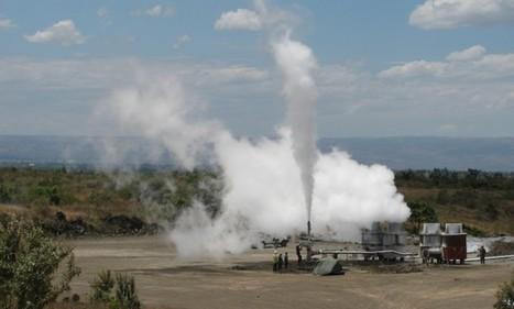 GDC drills 30 MW well at Menengai, Kenya   Geothermal Energy   Scoop.it