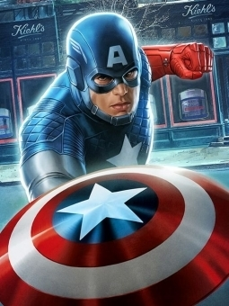Kiehl's Captain America Comic Book Arrives in The Wall Street Journal | Tracking Transmedia | Scoop.it