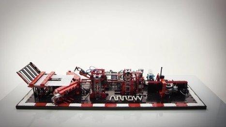 Inventivité: Une machine en Lego pour construire des avions en papier parfaits   Vous avez dit Innovation ?   Scoop.it