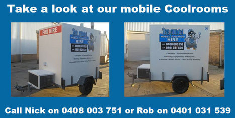 Cool Rooms for Hire in Melbourne - Ice Cubed | Ice Cubed Mobile Cool Room Hire | Scoop.it