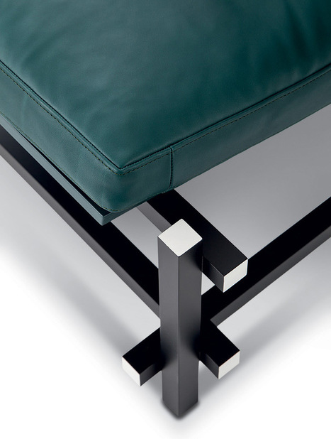 patricia urquiola references rietveld pavilion in cassina stand design at imm cologne | Design search | Scoop.it