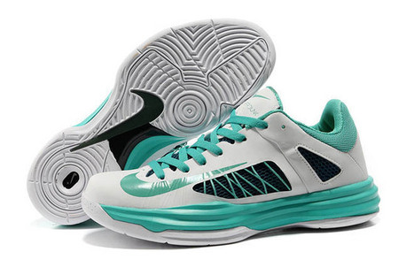 Low Style Nike Lunar Hyperdunk 2012 - Green & White | new and fashion list | Scoop.it