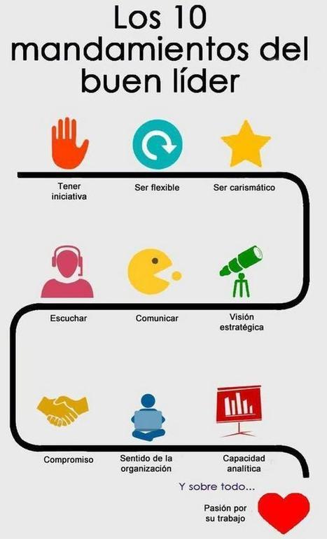 #RRHH #Liderazgo Los 10 mandamientos del buen Líder @rosagarciatwitt | Making #love and making personal #branding #leadership | Scoop.it